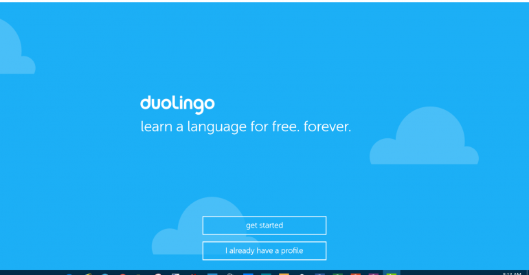 Take a tour of the Duolingo Universal Windows Platform App for Windows 10