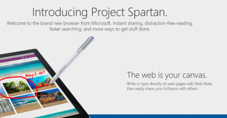 Gallery: Project Spartan in Windows 10 build 10049