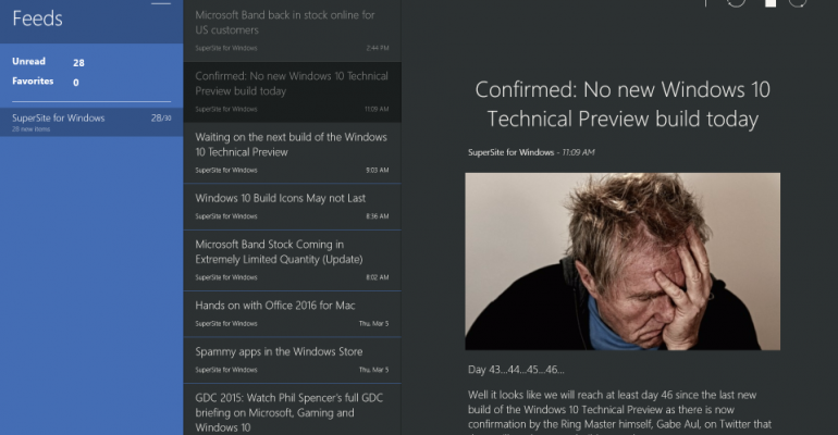 Gallery: Apps Weekly for 08 March 2015 - Fedora Reader