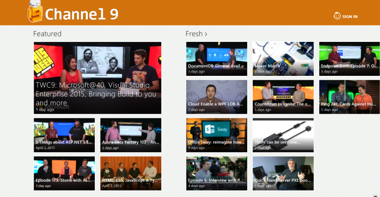 Gallery: Apps Weekly for 12 April 2015 - Channel 9