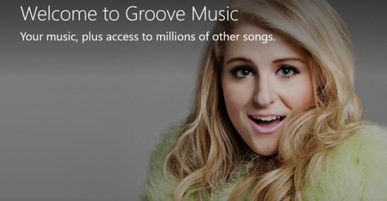 Gallery: Groove Music App