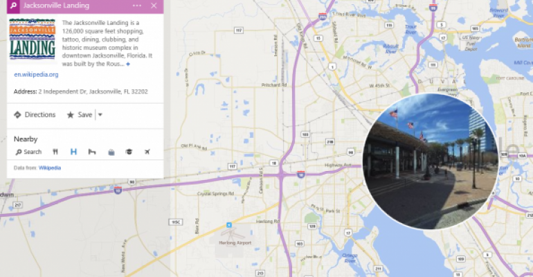 Gallery: Bing Maps Preview July 2015