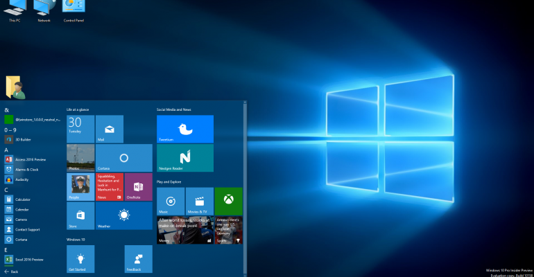 Gallery: Windows 10 Insider Preview Build 10158