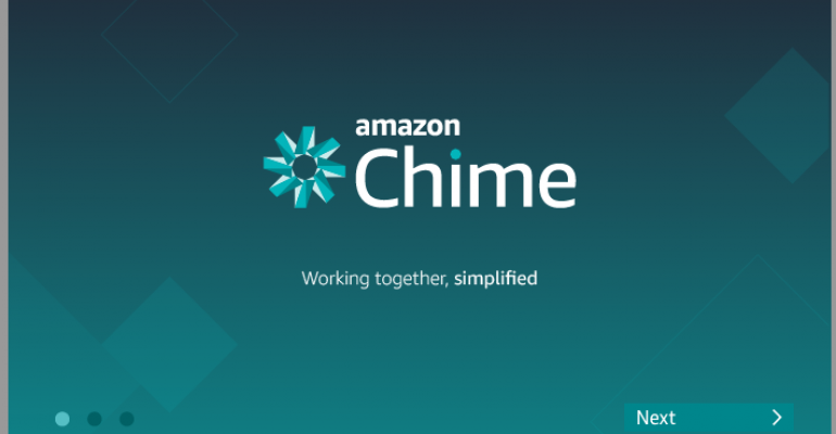 Amazon Chime Aims to Grab a Piece of the Enterprise Communications Market
