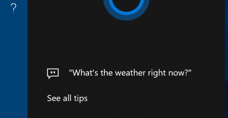 Hands On - Recent Cortana UI Changes