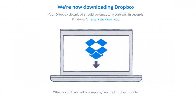 Dropbox on Windows 10