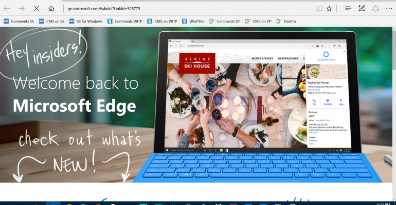 Check out Microsoft Edge Extensions in Windows 10 Build 14291