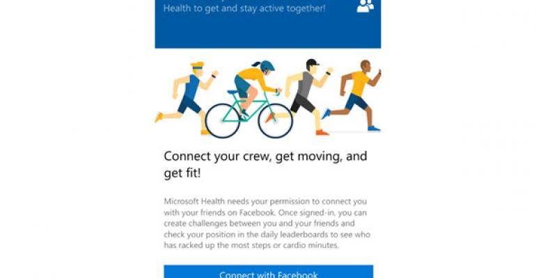 Walkthrough: Microsoft Band's Leaderboard and Activity Challenges