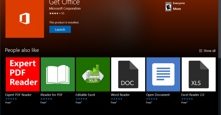 Get Office App Becomes Your Office 365 Hub on Windows 10
