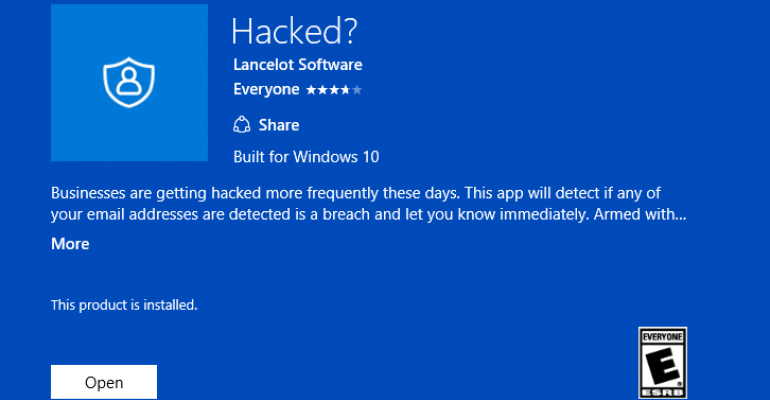 App Tour - Hacked?