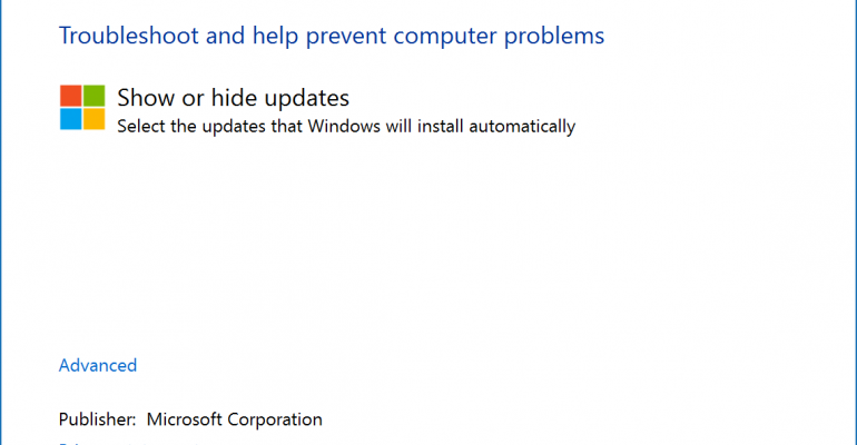 How To: Hide Windows and Driver Updates on Windows 10