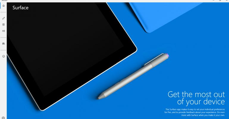 Surface App Gets Redesigned for Windows 10, Fixes Pen Issues
