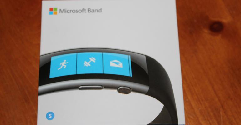 Microsoft Band v2 Packaging