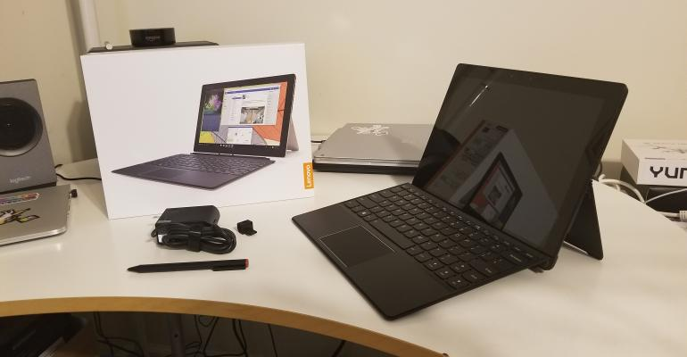 Hands On: Lenovo Miix-720 2-in-1 Convertible Tablet and Laptop