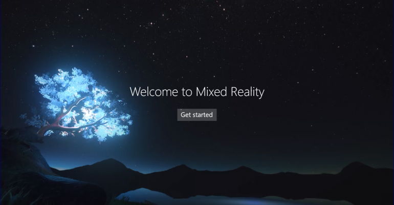 Mixed Reality Tools in Windows 10 Creators Update Build 15025