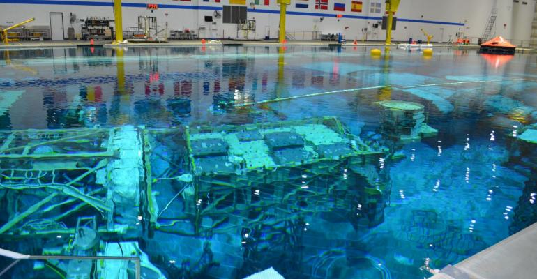 Neutral Buoyancy Lab at Johnson Space Center