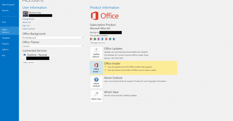 Quick Tip: How to enroll in the Office 365 Insider Fast Ring