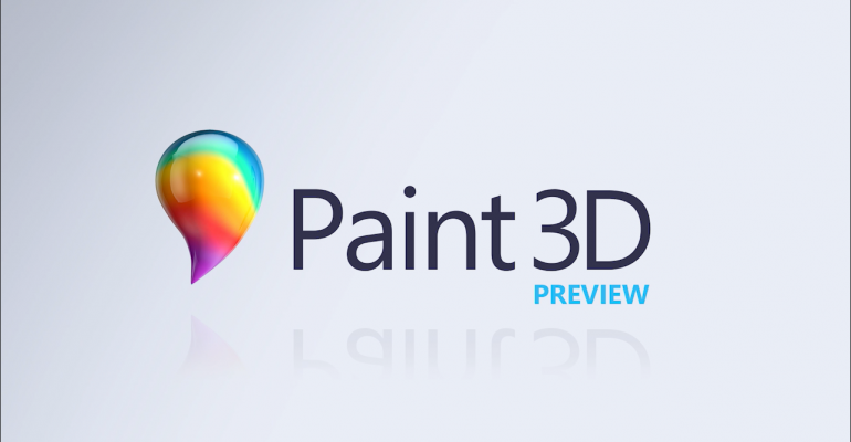 App Tour - Paint 3D Preview