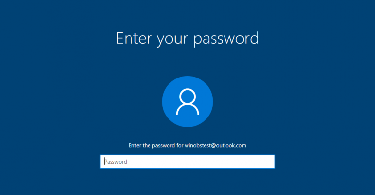 How To: Reset Your PIN or Password Via The Windows 10 Fall Creators Update Lock Screen