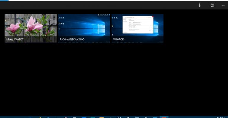 Windows 10 UWP Remote Desktop App now in preview