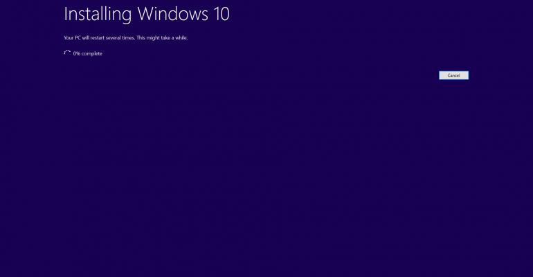 Hands On with Windows 10 Refresh Tool