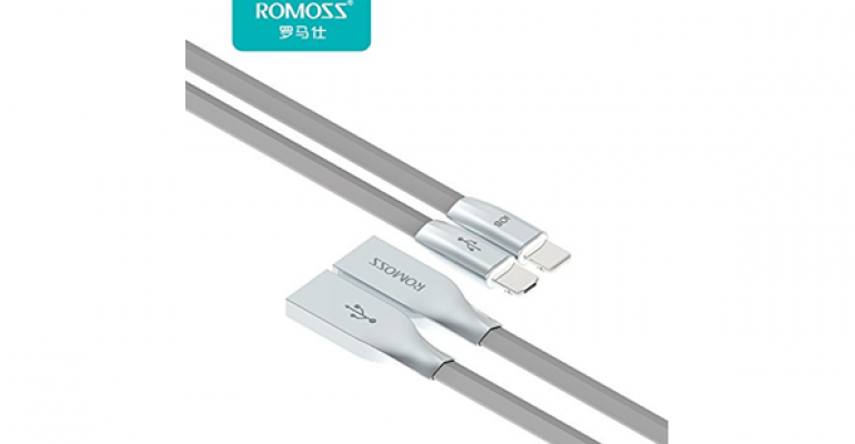 Dual-use USB/Lightning Port Charging Cable
