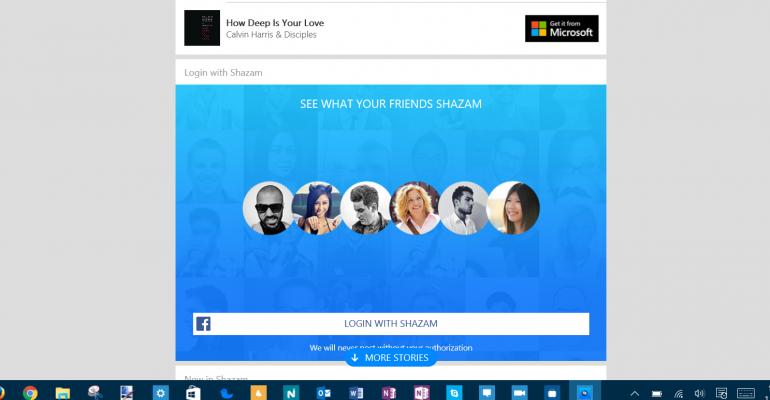 Shazam App Gallery