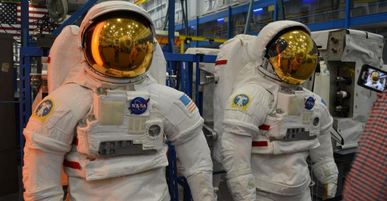 Space Center Houston - The Space Suit Collection