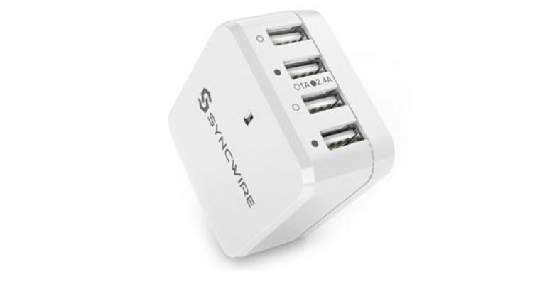 Review: Syncwire 4-Port USB Wall Charger