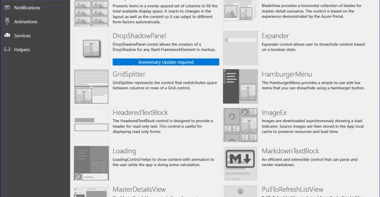 Microsoft UWP Toolkit Version 1.3 Released