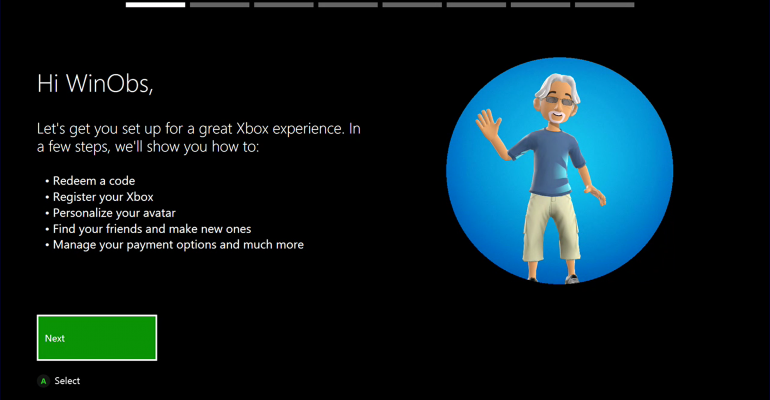 New Xbox One Console Welcome App Available to Xbox Insiders on Alpha Preview Ring