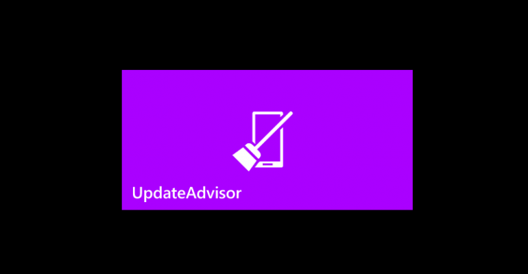 Windows Phone UpdateAdvisor App
