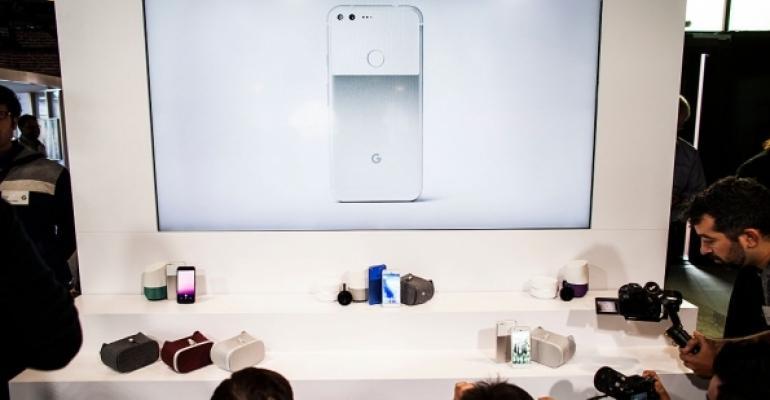Google Pixel Phone Display
