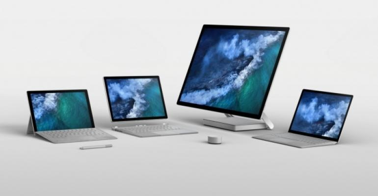 Microsoft Surface Computer Devices