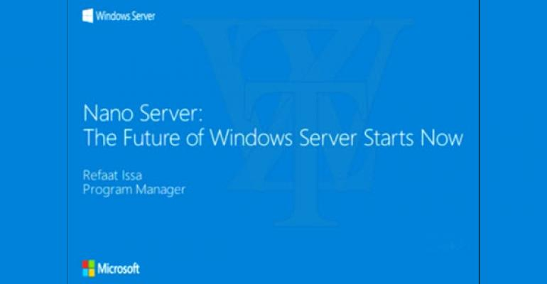 Windows Server to Get Major Changes in a Future Release