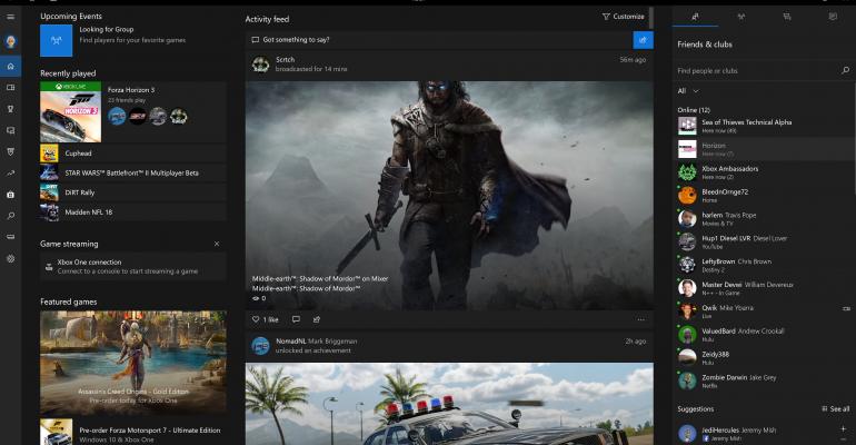 PC Gaming on Windows 10 Fall Creators Update