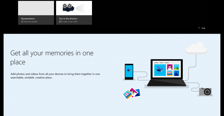 Microsoft Photos App