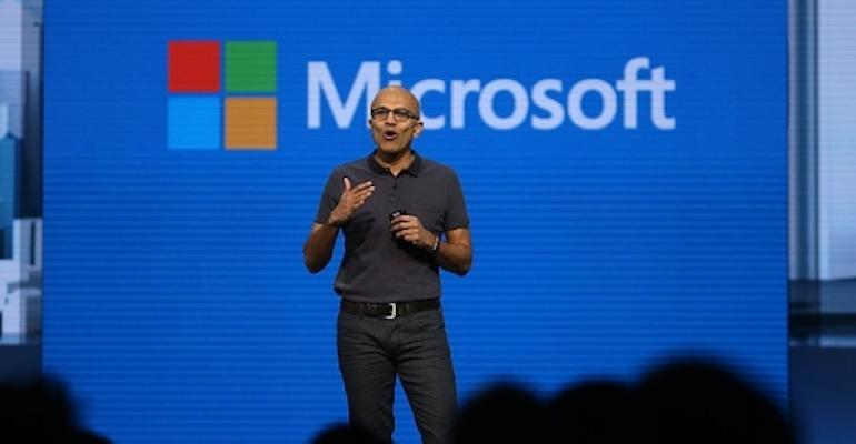 Satya Nadella Speaking at Ignite 2017