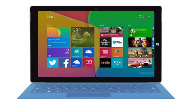 Image of Windows 10's Start Screen