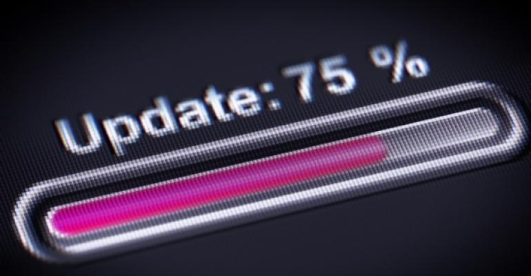 update progress bar