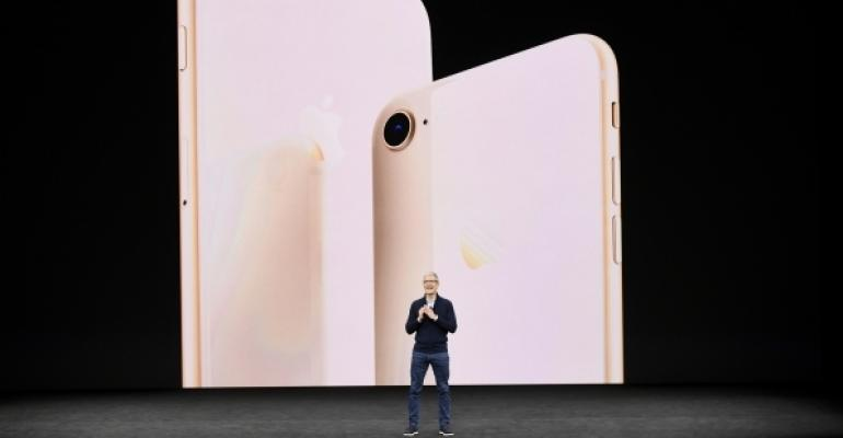Tim Cook Announcing New Apple iPhone