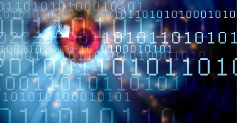 data streaming across human eyeball