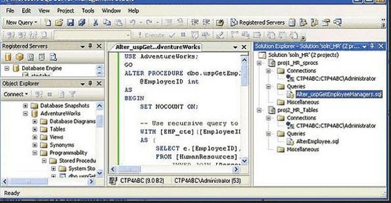 Check It Out: SQL Server Management Studio Express SP2