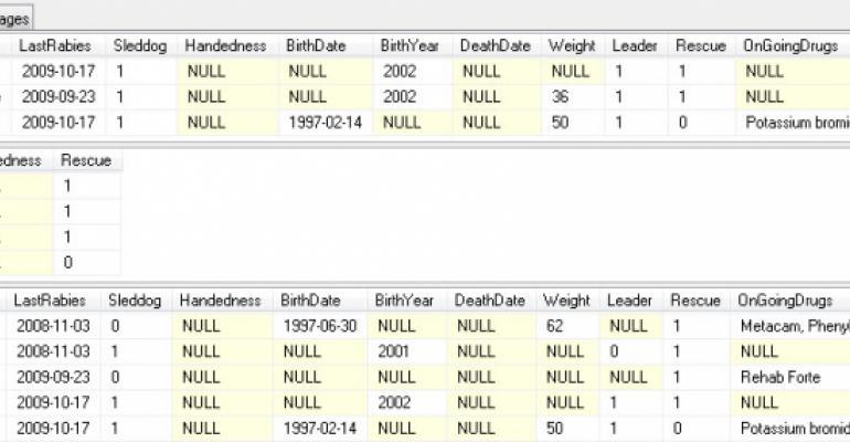 Efficient Data Management in SQL Server 2008, Part 1