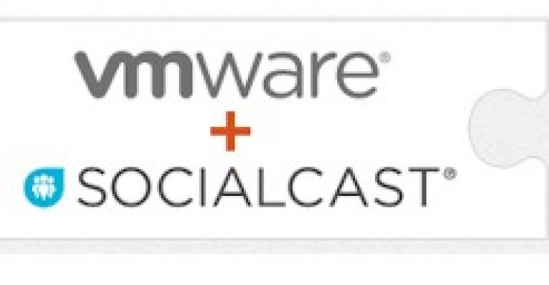 VMware buys social collaboration platform