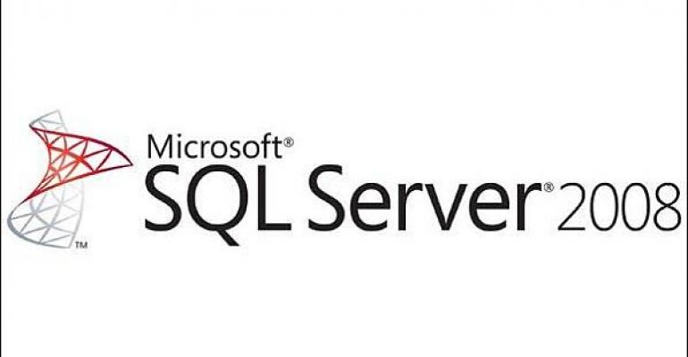 Microsoft SQL Server 2008 logo