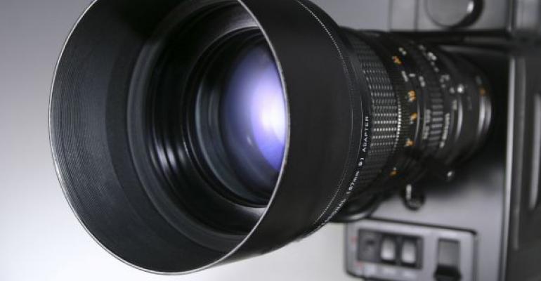 video camera lense