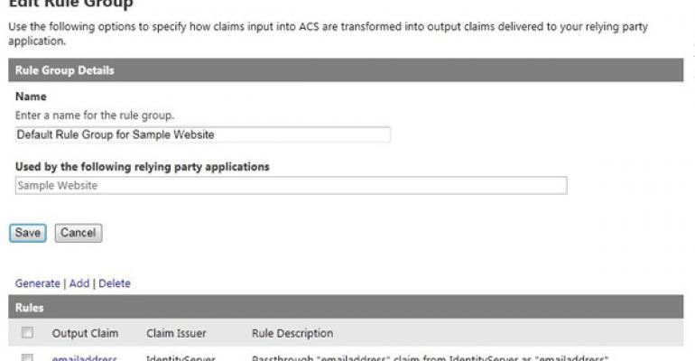 Add Authentication Options to Your Windows Azure Website