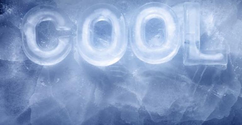 cool written in ice