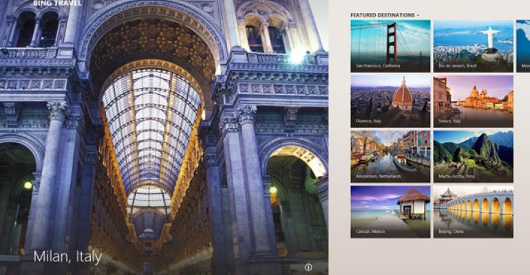 Microsoft Discusses Creation of Bing Apps for Windows 8